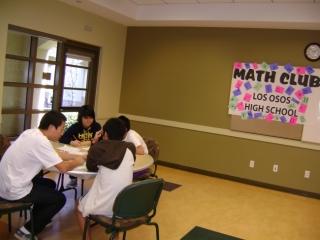 2007 Math Club Beginning, President John Park & VP Angela Hyun