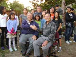 Rancho Cucamonga Mayor Dr. Don Kurth & Founder Dr. Park